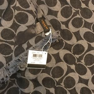 COACH Signature Wrap Black and Gray